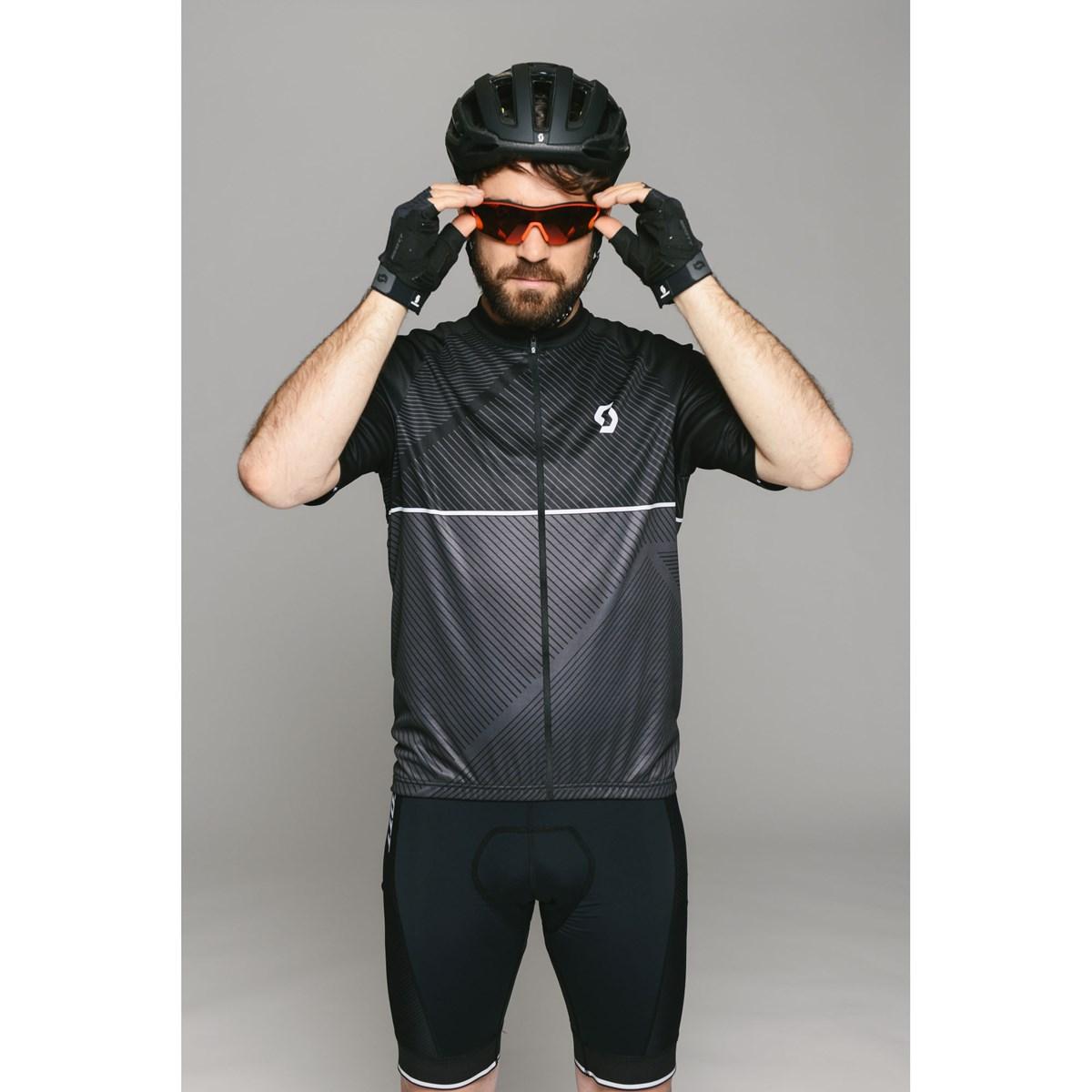 Scott Endurance 30 Short Sleeved Cycle Jersey Black £55.99 a53322ad6