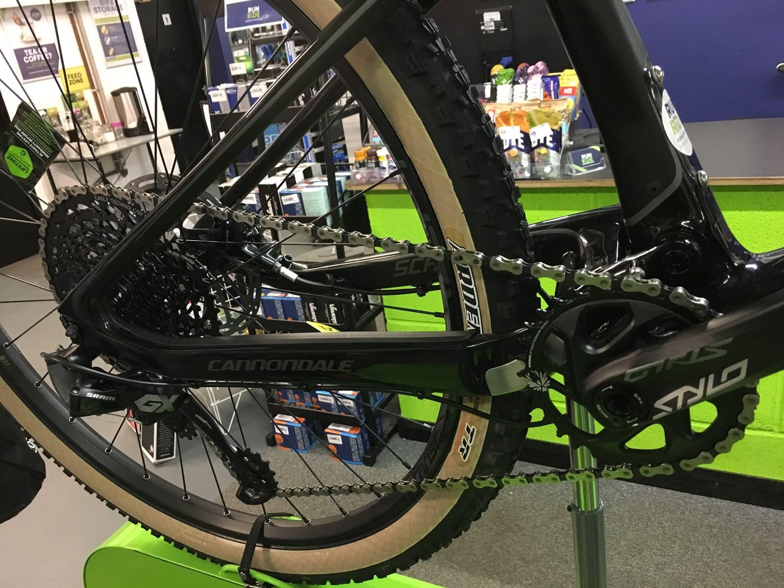 2018 Cannondale Scalpel Se 2 Carbon Full Suspension Mountain Bike
