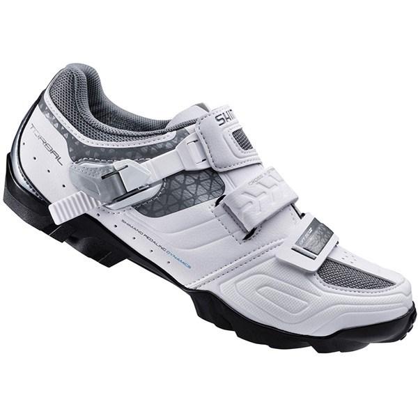 38bb4fd1c04 Shimano WM64 SPD Womens Off Road Mountain Bike Shoe White Black £94.99